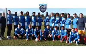 Match amical de la Sélection U17 Sarthe le 29/05/2019