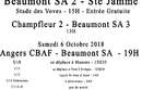 Agenda Sportif  :  6/7 Octobre 2018