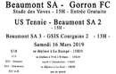 Agenda Sportif  :  16/17  Mars 2019