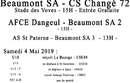 Agenda Sportif  :  4/5 Mai 2019